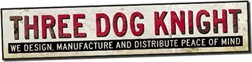 three dog knight logo